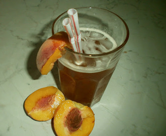 Ice tea made at home