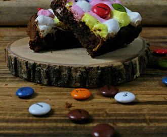 Brownie S´Mores con Lacasitos