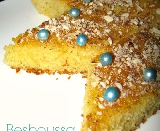 Besboussa  | Honeyed Almond Semolina Cake