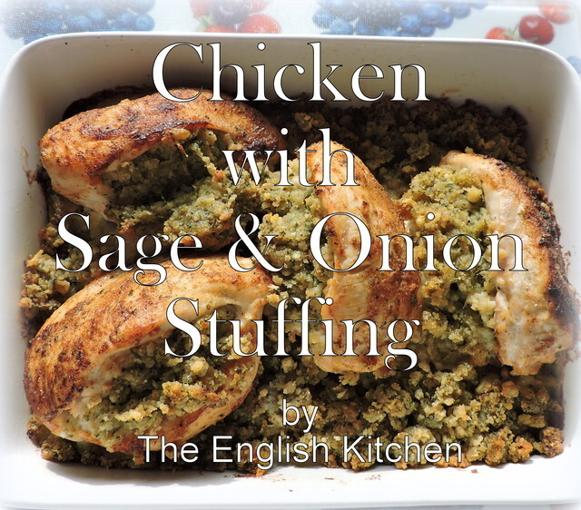 Chicken Breasts with Sage & Onion Stuffing