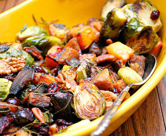 Roasted Fall Vegetable Salad
