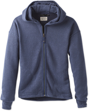 Prana W's Cozy Up Zip Up Jacket Equinox Blue Heather XS 2018 Yogakläder