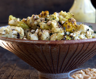 "Roasted Cauliflower & Romanesco with [""Secret""] Aioli"