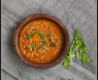 Chemmen Ulli Theeyal Recipe - A Guest Post by Remya Sean