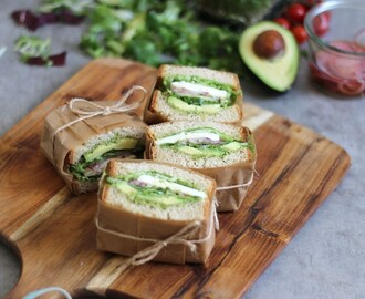 Green Sandwiches