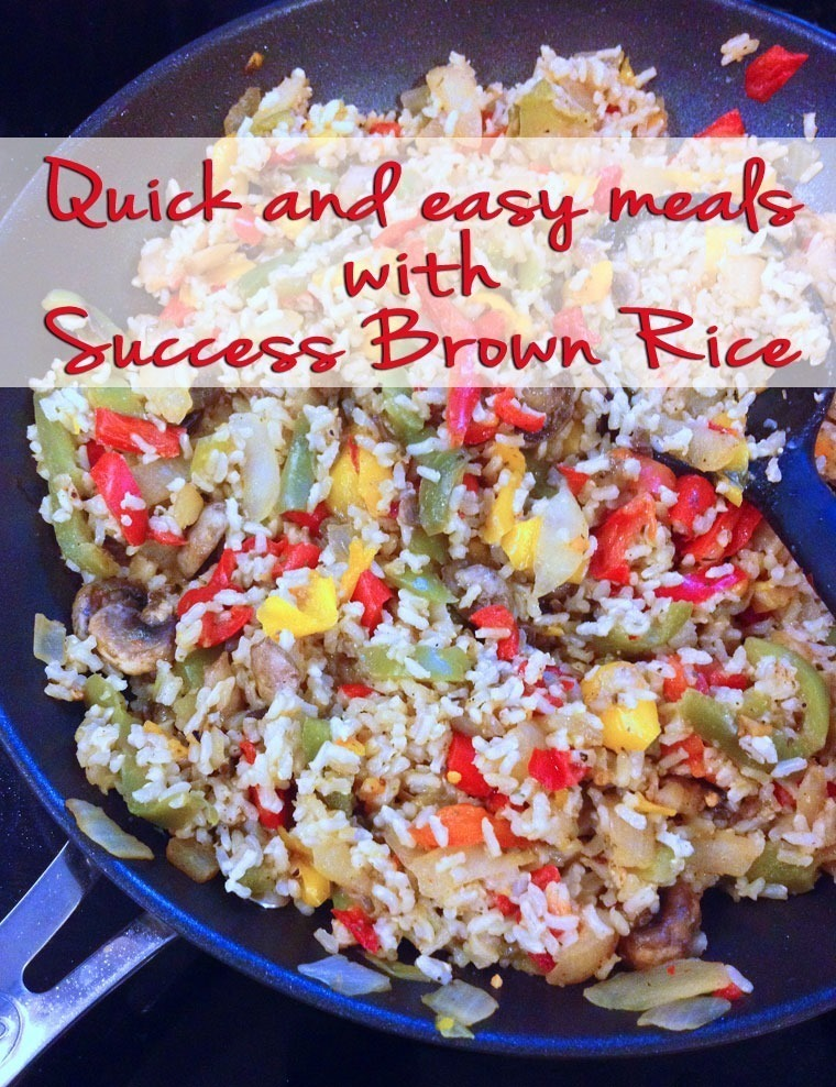 Quick and easy meals with Success®  Brown Rice
