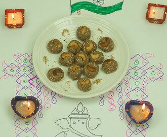 Till and almond laddu