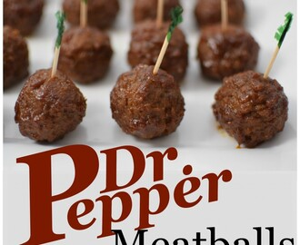 Dr Pepper Meatballs – and Comfort from Isaiah