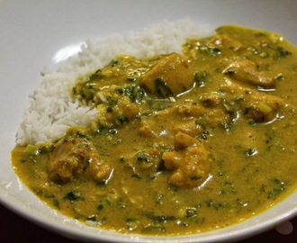 Chicken Peanut Curry (Peanut Butter Chicken Curry)