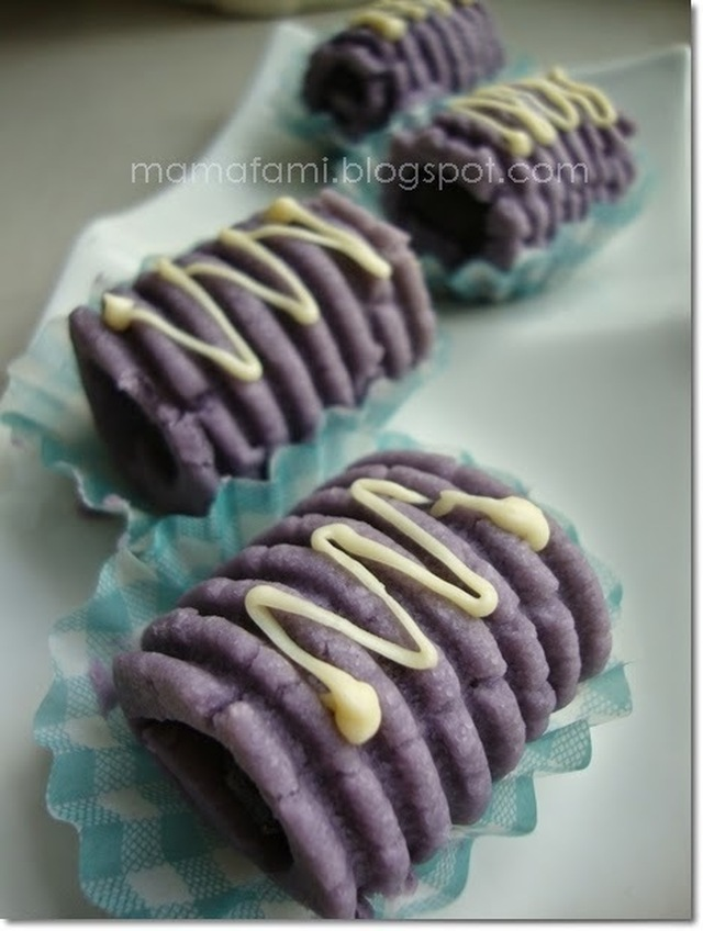 Rolled Blueberry Tart 2