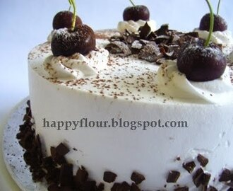 Chocolate Hazelnut Cream Cake