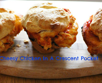 Cheesy Chicken In A Crescent Pocket