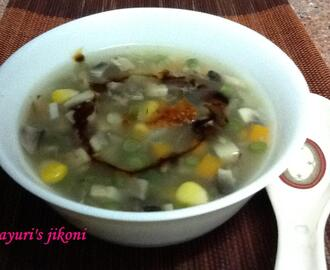 271. sweet corn and mushroom soup