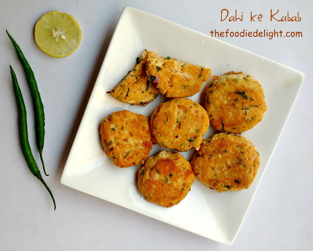 Dahi ke Kabab Recipe | How to Make Dahi ke Kabab
