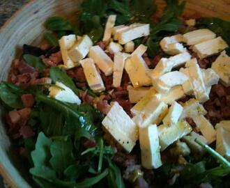 Salat mit Bacon & Feta *Low Carb*