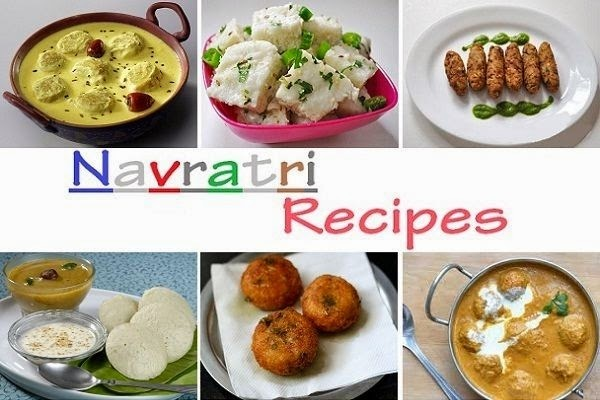 Special Recipes for Navratri Fast