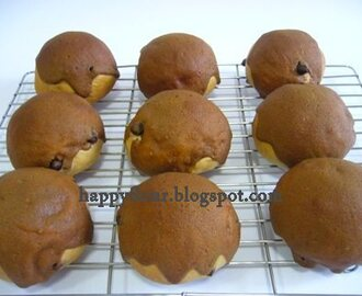 Coffee Chocolate Chips Buns