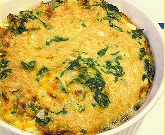 Spinach Impossible Pie