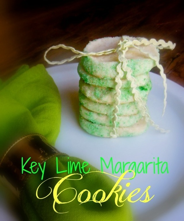 Key Lime Margarita Cookies #LorAnnOils