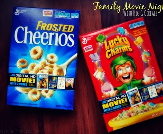 Family Fun with Big G Cereal Movies & Salty Sweet Snack #Recipe #GeneralMillsCerealMovies #SP