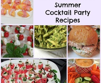 Semi-Homemade Summer Cocktail Party Recipes