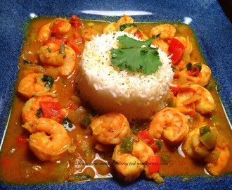 Jamacian-Style Curry Shrimp