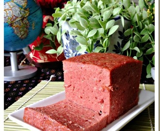 Game To Prepare Luncheon Meat With A Slightly Different Taste?–Homemade Luncheon Meat (自制午餐肉)