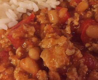 Chili con chicken