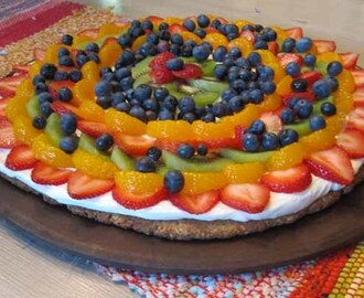 Summer's Dessert – Fruit Pizza