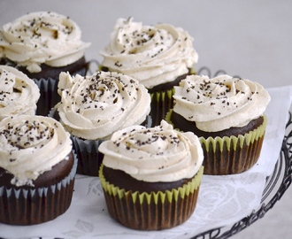 Mocha Cupcakes with Kahlua Buttercream