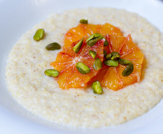 Hirseporridge vegan