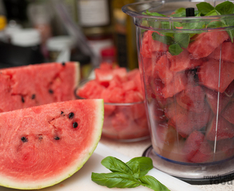 Recipe - Watermelon Summer Thirst Quencher