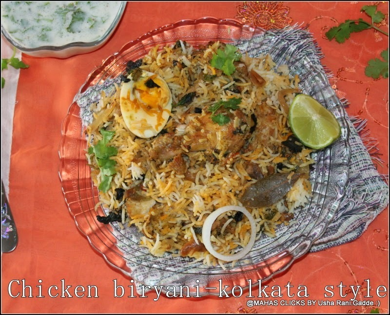 Kolkata style chicken dum biriyani with step wise pictures/Spicy south indian prefect chicken dum  biryani/chicken biriyani recipes