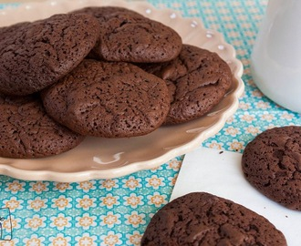 Neue Lieblingscookies: Supersofte Chocolate Fudge Cookies