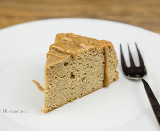 Banana Peanut Butter Protein Cake