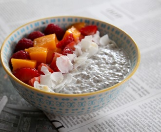 Vegan Chia Pudding {Rezept}