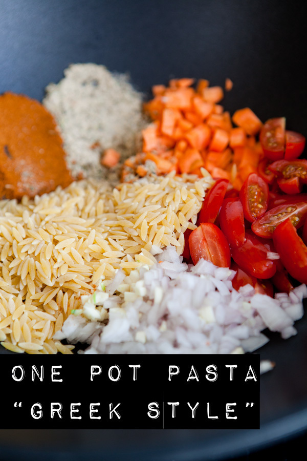 "One Pot Pasta Greek Style – aus ""1 Pot Pasta… basta!"""