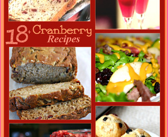 Over 18 Recipes for Cranberries