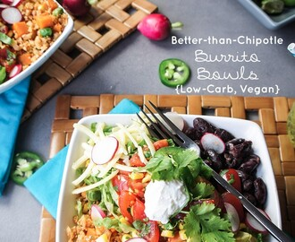 Better-than-Chipotle Burrito Bowl {Vegan/Vegetarian}