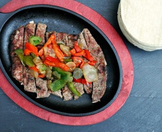 Steak Fajitas On The Grill