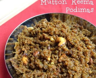 Chettinad Mutton Keema Podimas Recipe | Mutton Recipes