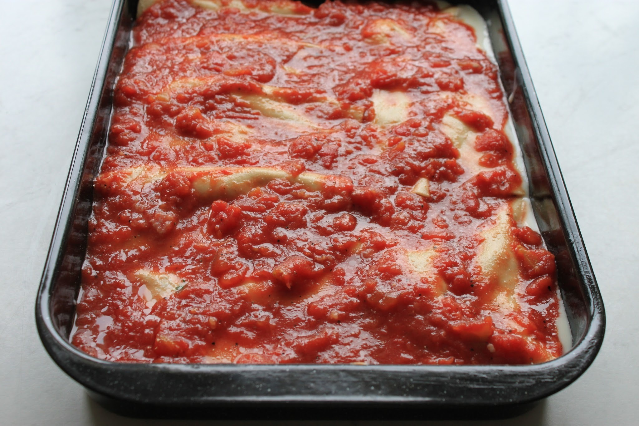 Cannelloni med spenat
