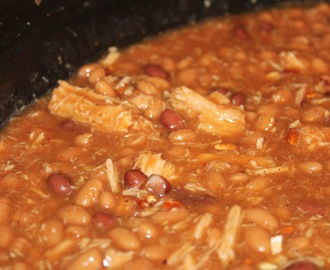 Chipotle Baked Beans with Pulled Pork