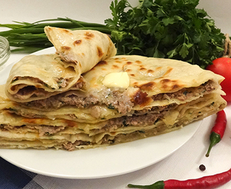 Эт-хычин (Meat Pie «Khychin»)