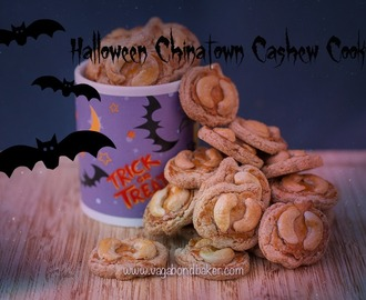 Halloween Chinatown Cashew Nut Cookies