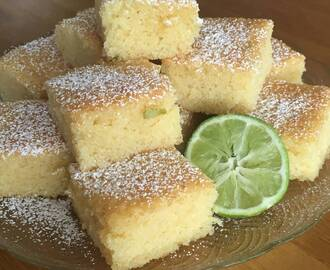 Limerutor ( lime blondies)