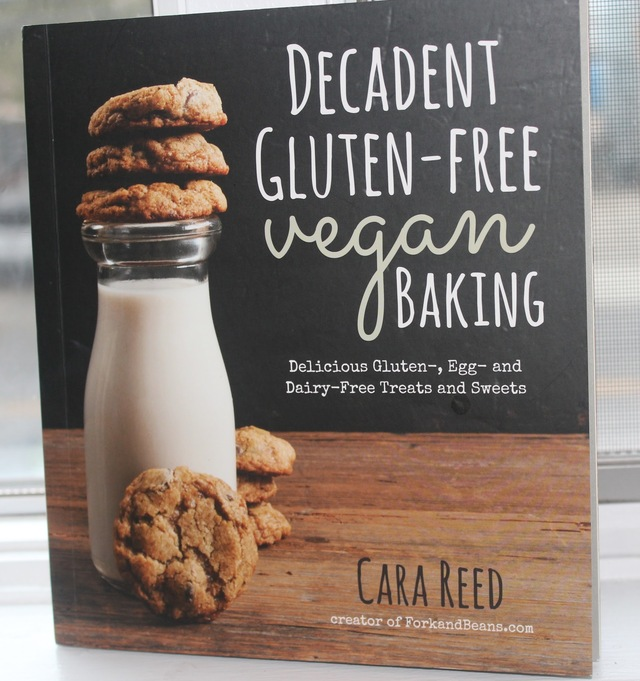 Decadent Gluten Free Vegan Baking By Cara Reed Book Review+ Giveaway!