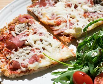 Low Carb Thunfisch Pizzateig – Leckere Alternative aus Thunfisch