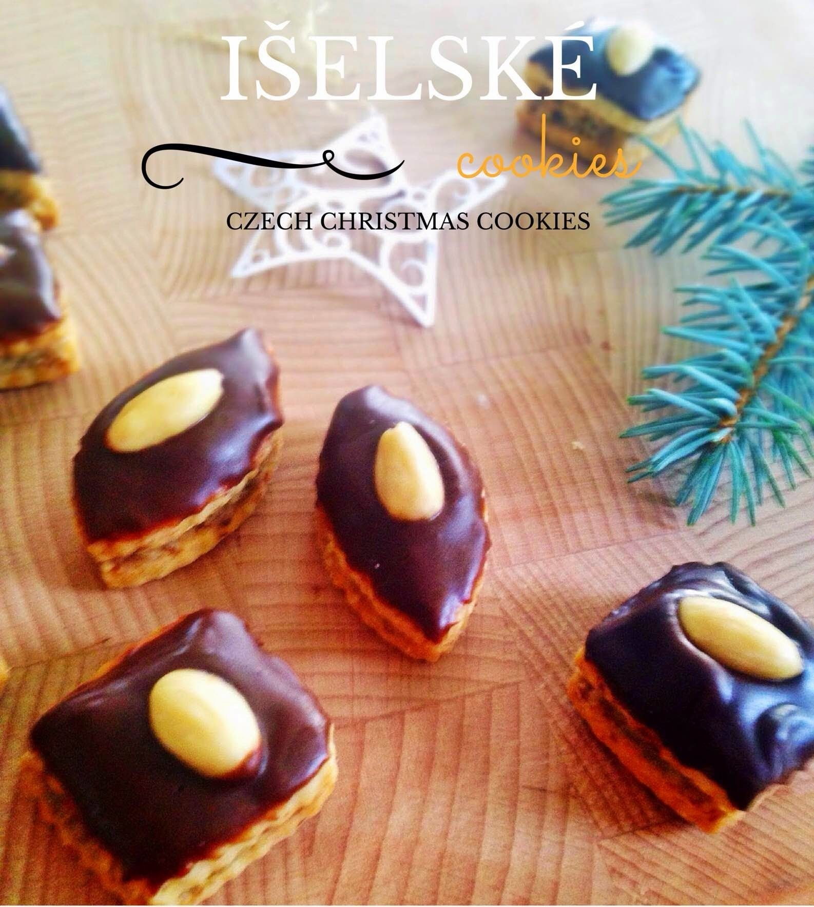 "CZECH CHRISTMAS COOKIES ""ISELSKE"""