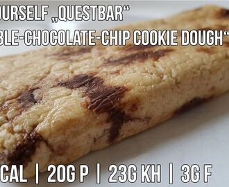 Do It Yourself Questbar | Proteinriegel Rezept